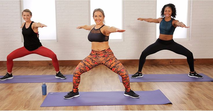 At-Home Cardio Workout | Video | POPSUGAR Fitness