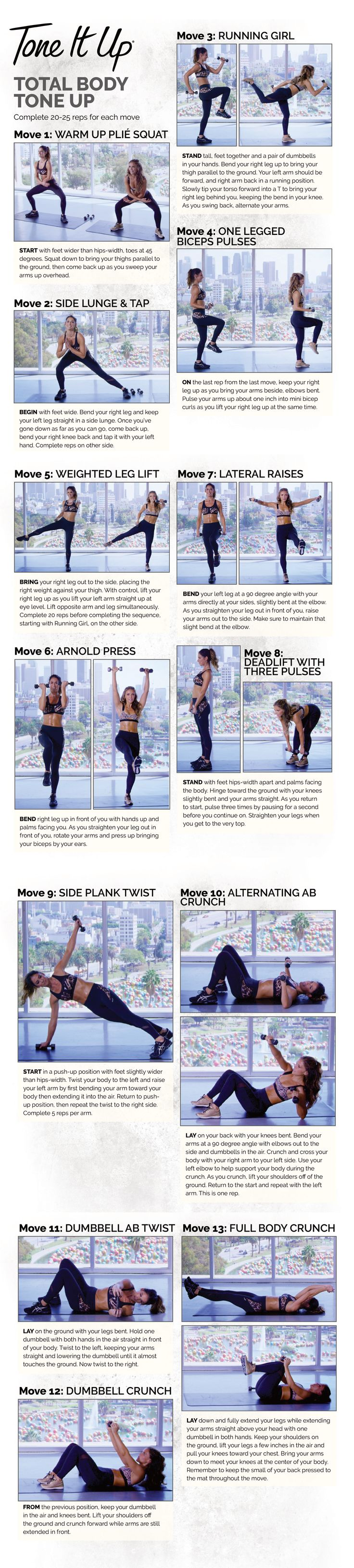 DAILY WORKOUT | ToneItUp.com