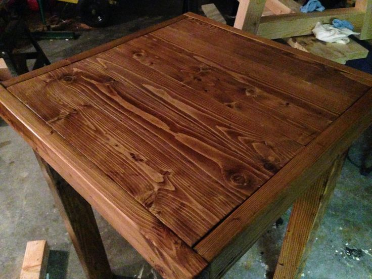 Pub Table Built At Barleycorn Woodworks, Northwood, NH