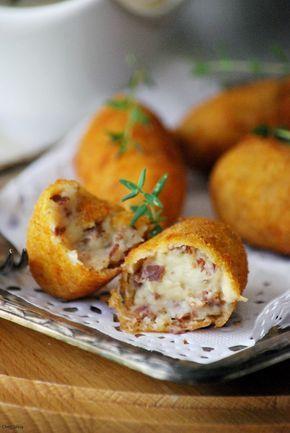 CHEZ SILVIA: Croquetas de jamón ibérico. Receta de Carme Ruscalleda. {Ideas navidad }
