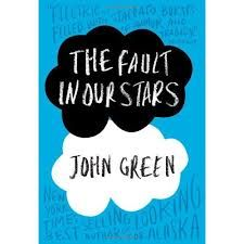 the fault in the stars - can't wait to finish it and then see the movie.