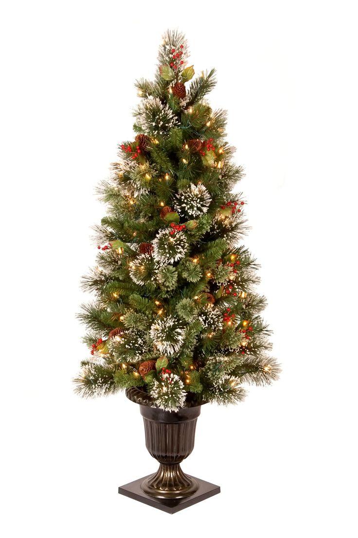 National Tree Company Christmas Decorations 4' Wintry Pine