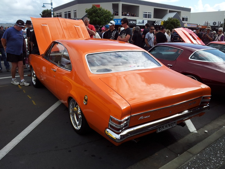 The crowd was drooling over the metallic orange Monaro at Beach Hop. The detail is impressive, ARP bolts etc everywhere. No expense spared.