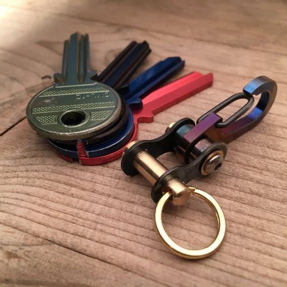 Biker Key-link por EdcApparatus en Etsy