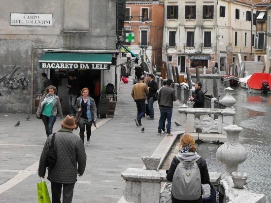 Bacareto Da Lele Panini Wine Bar. #1 Rest. in Venice  Campo dei Tolentini 183 - Santa Croce, Venice, Italy