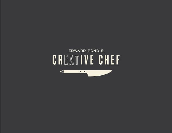 Edward Pond's Creative Chef by Kammy Singh, via Behance  Food photographer competition Logo