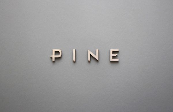 Pine typeface by Cody Petts, via Behance