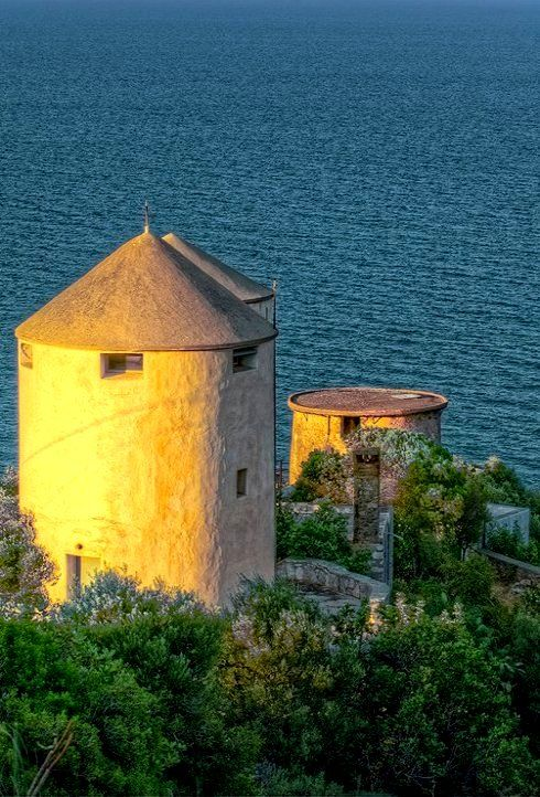 Old windmill in Tyros - Arcadia, Greece