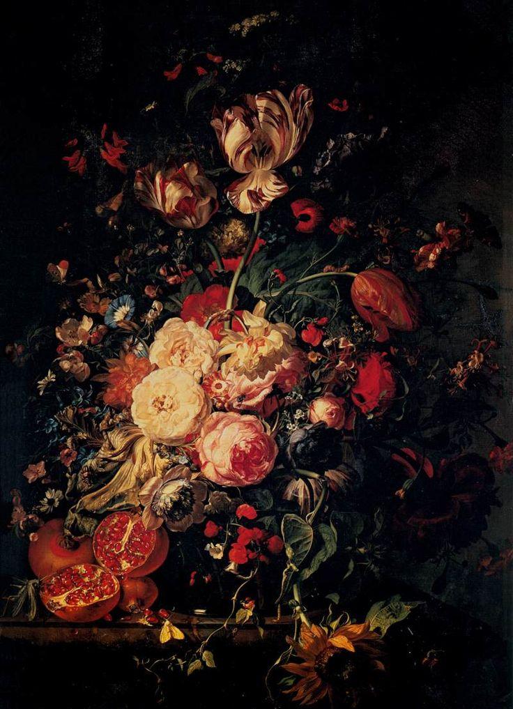 Rachel Ruysch Flower Still Life After 1700 Rachel ruysch