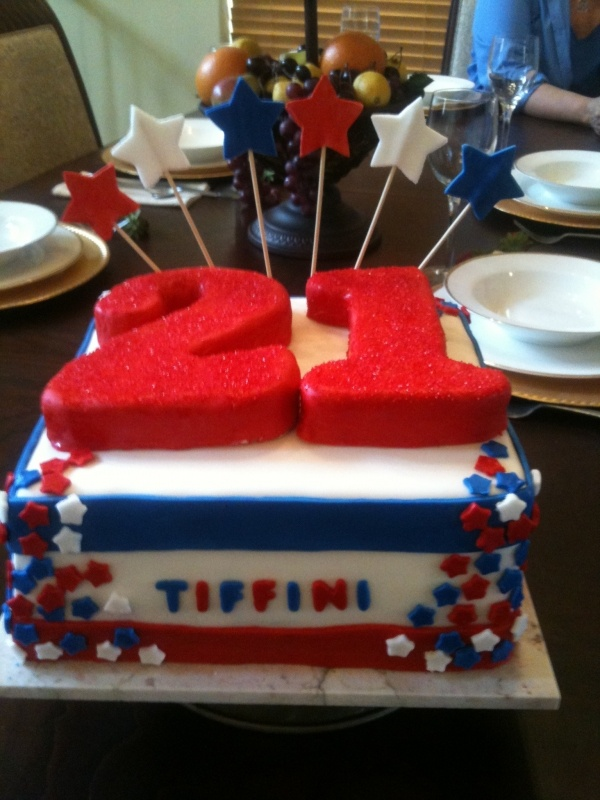 4th of july themed birthday party
