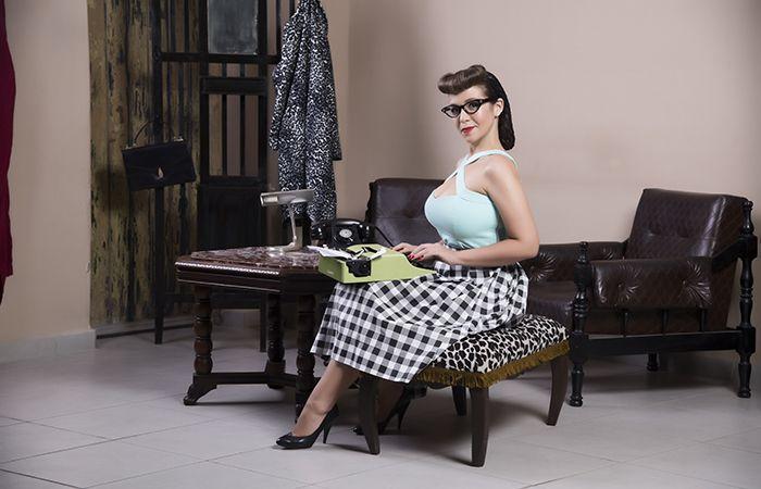 10 best Pin-Up Secretária images on Pinterest