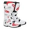 Alpinestars Tech 3 White Red Chrome Boots Motocross MX Sole