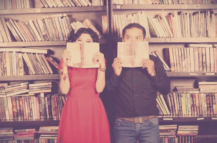 "Prawedding ""library Concept"" #vintage #photography #concept #moment"