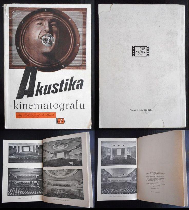 czech avant-garde Zdenek Rossmann 1947 Akustika kinematografu