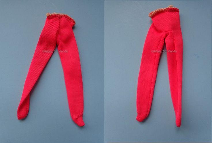 Vintage Barbie Tutti Doll Pink Nylon Tricot Tights Leotards NE fits Chris Carla #Mattel #Clothing