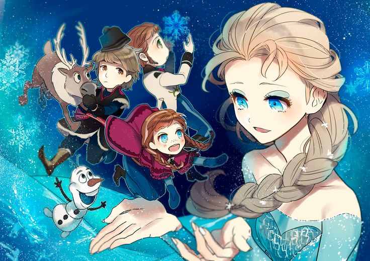 disney anime | zerochan / Disney / Frozen (Disney) /#1695293