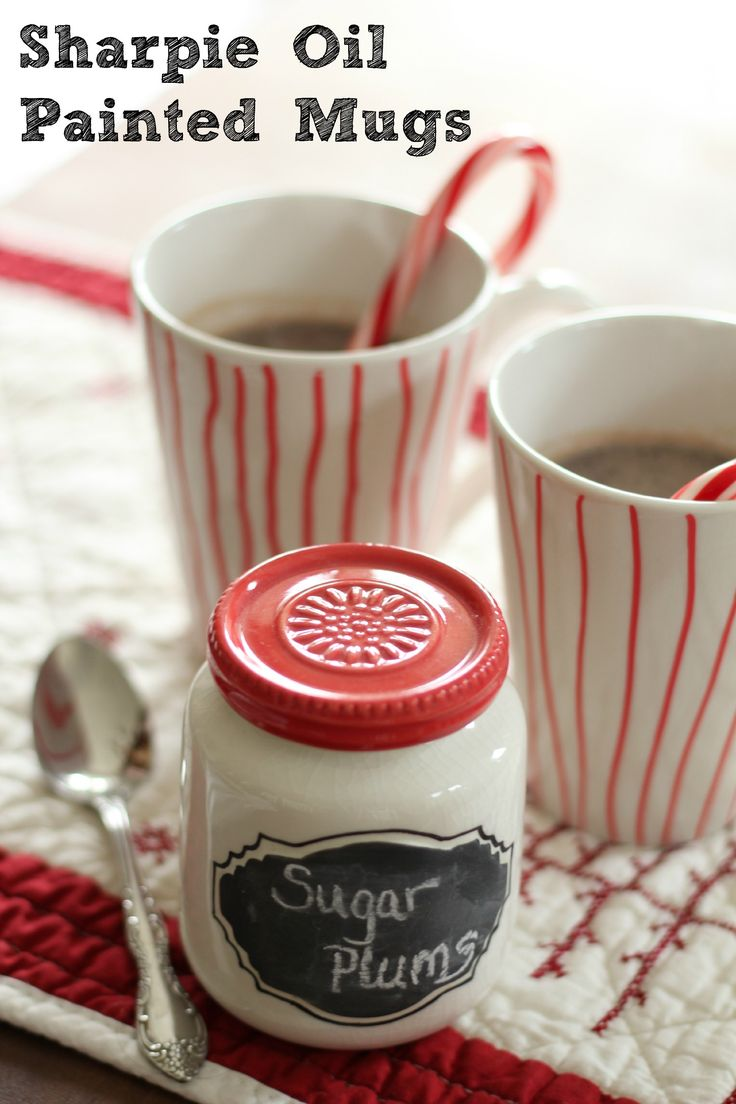 Sharpie Oil Painted Mugs: At Home on the Bay: Christmas Crafts Gifts, Sharpie Oil, At Home, Bays, Teacher Gift, Gift Crafts, Christmas Gifts