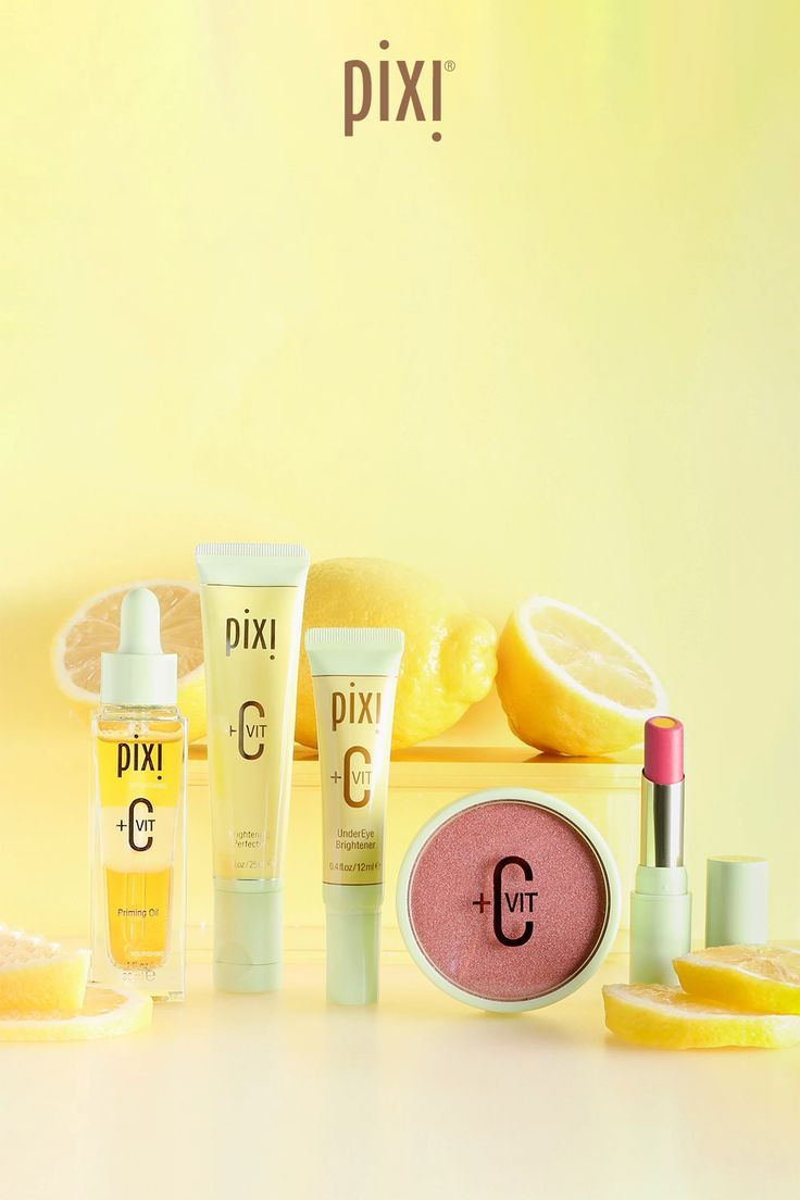 Meet our new Vitamin-C infused, complexion enhancers. 🍋