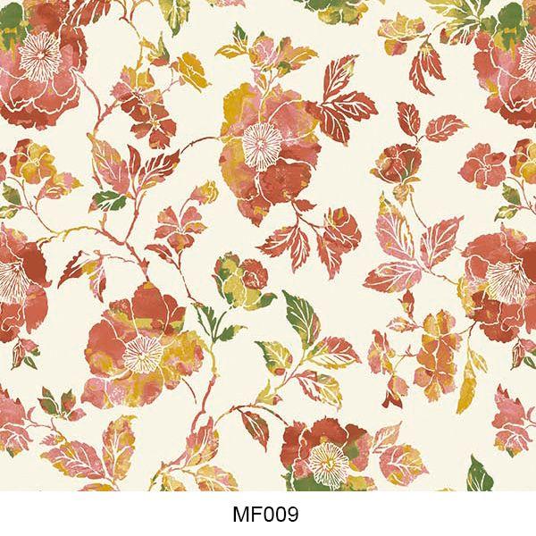 Hydro printing film flower pattern MF009
