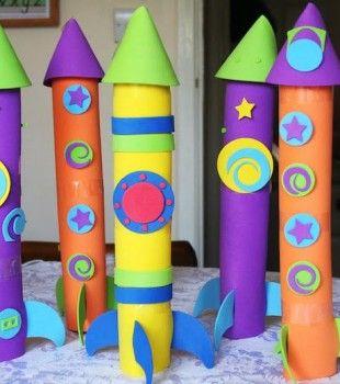 Las 25 mejores ideas sobre naves espaciales para ni os en - Mas manualidades faciles ...