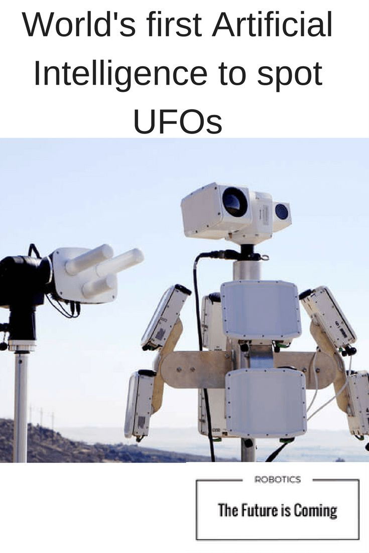 It identifies flying drones or UFO'S by using Artificial Intelligence and Machine Learning.
