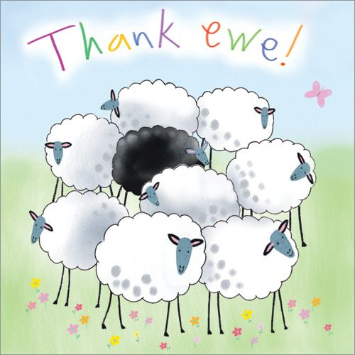 Thank You Card - $3.60 S193 Buy Online Now