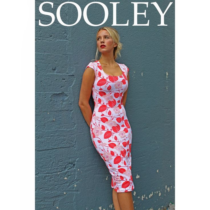 Sooley fitted cap sleeve dress