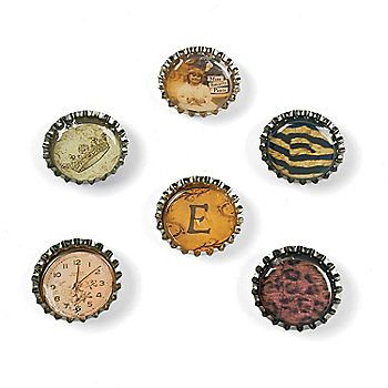 43 best images about bottle cap crafts on pinterest for Where to buy magnets for crafts