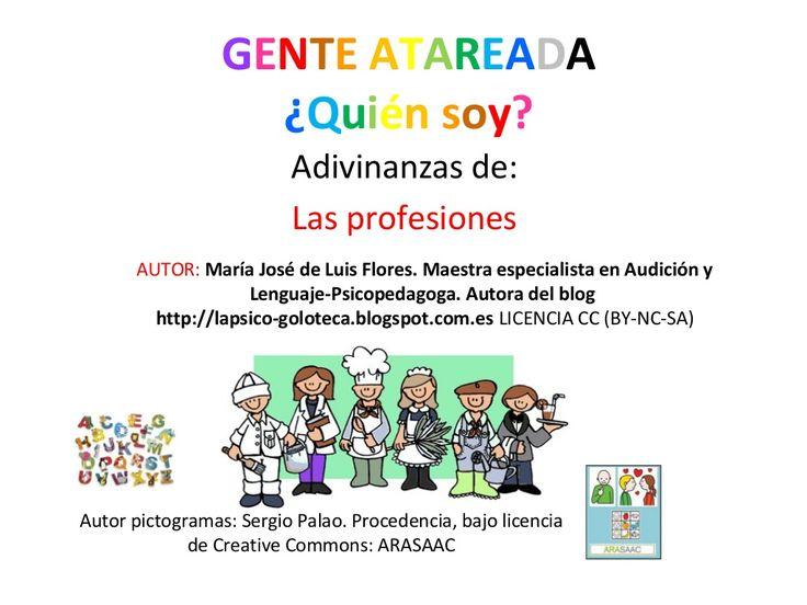 Gente atareada, by MariaJosé Luis Flores via slideshare