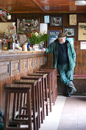 Gaynor's Pub, Leenane, Connemara, Ireland  Used in the the film 'The Field'.: