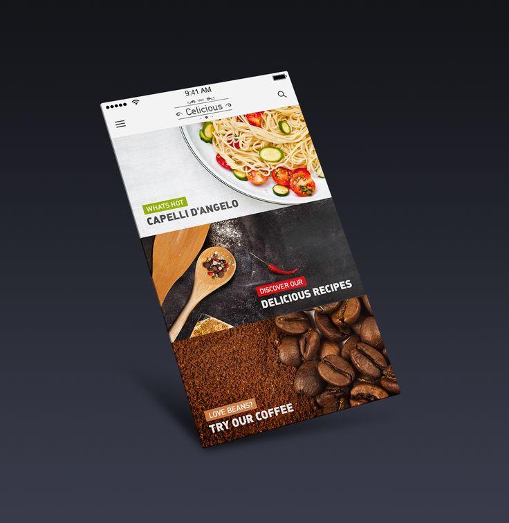 Food app full view