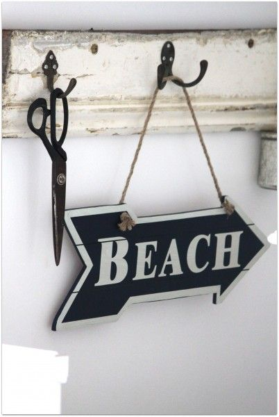 rustic beach cottage. For guest bath decor.-make entry door hangers with reclaimed stuff