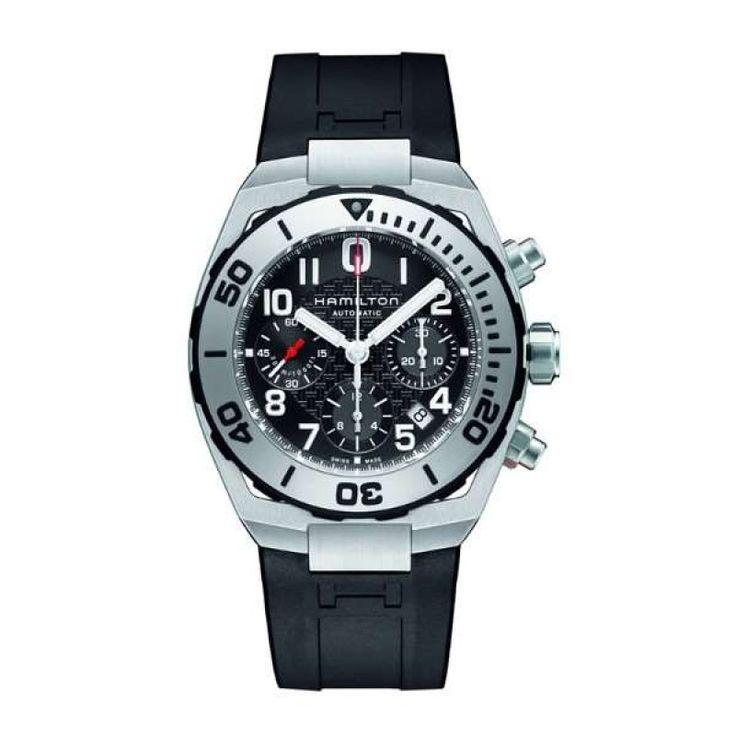Reloj hamilton khaki navy sub auto chrono h78716333