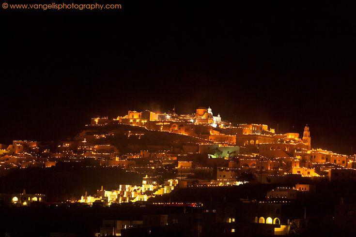 Easter in Santorini - Epitaph | Πασχα στη Σαντορινη - Επιταφιος, χωριο Πυργος