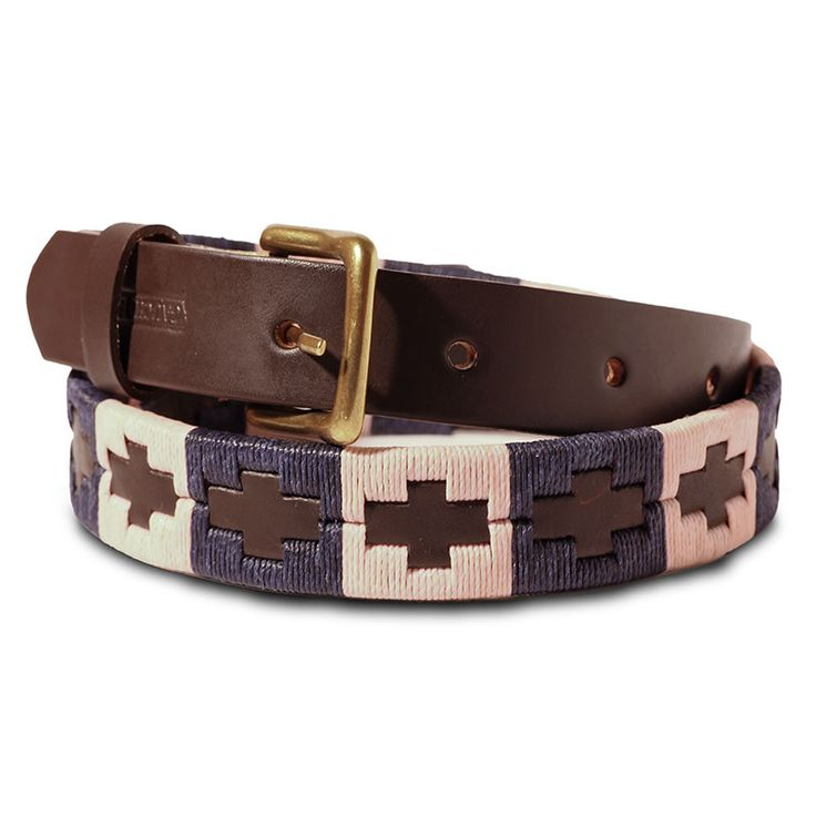 Children's Westminster - embroidered Argentinian polo belt.