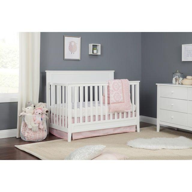 Carter S By Davinci Connor 4 In 1 Convertible Crib Kohls Baby Girl Nursery Room Convertible Crib Girl Nursery Room