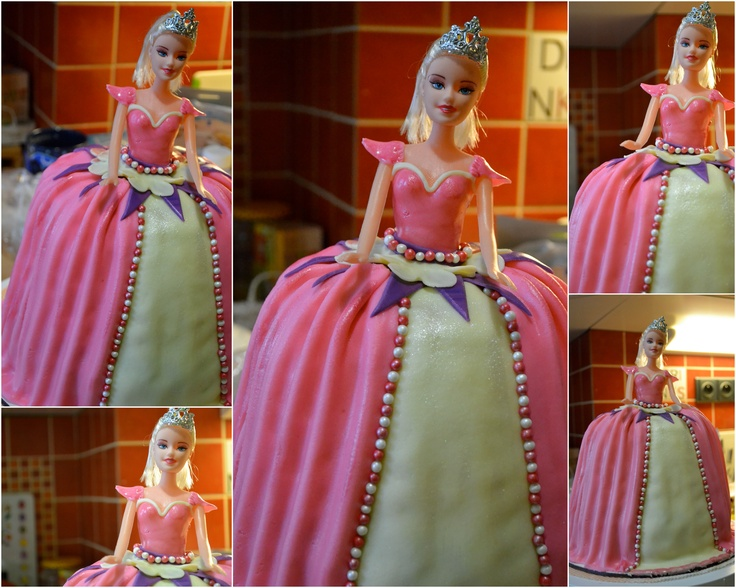 Barbie Cake #barbiecake #girls #cake #pink