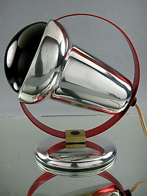 Lampada disegnata da Charlotte Perriand,anni 50.