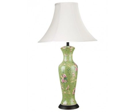 Valentino Aimee Tall Green Table Lamp 149