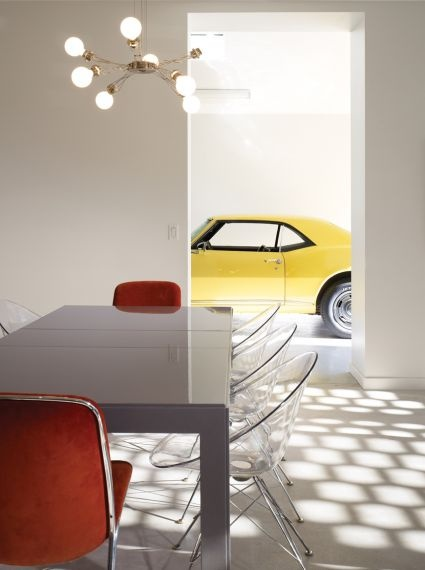 For the furniture, art, and car lover - Brickweave House by Studio Gang: Gang Architects, Cars Lovers, Housestudio Gang, Studios Gang, Brickweav House, Interiors Design, Architecture Records, Weaving Housestudio, Brick Weaving
