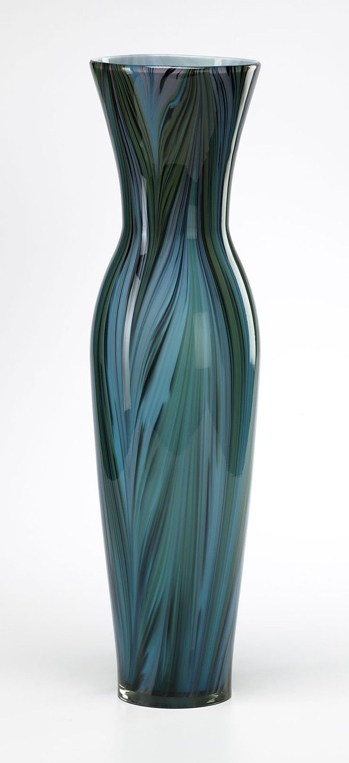 81 best vases images on pinterest jars vase and vases peacock feather glass vase 23 height x 65 diameter tall floor reviewsmspy