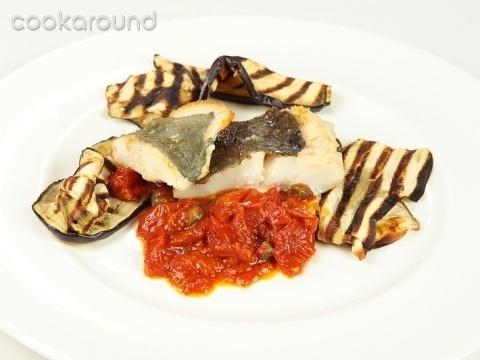 Filetto di san pietro con melanzane: Ricette di Cookaround   Cookaround