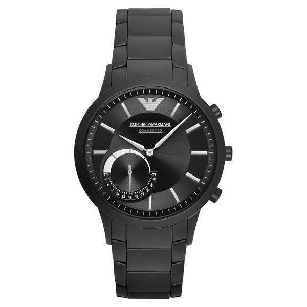 Emporio Armani Connected Uhr schwarz