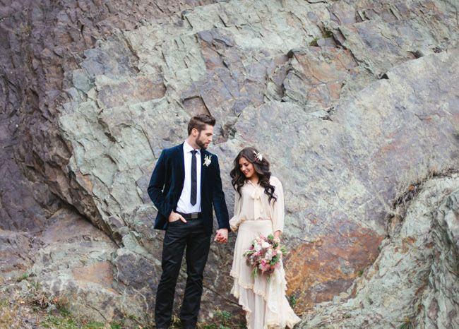 2014 Wedding Trends | Long Sleeves | Long-Sleeved Wedding Dress | Boho Wedding Inspiration