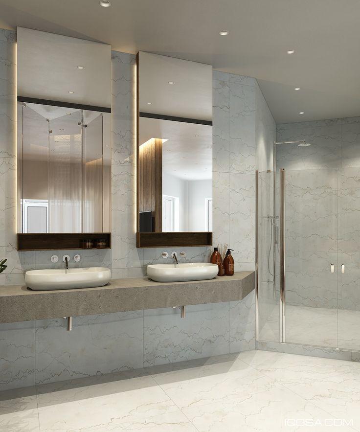 White Marble Bath