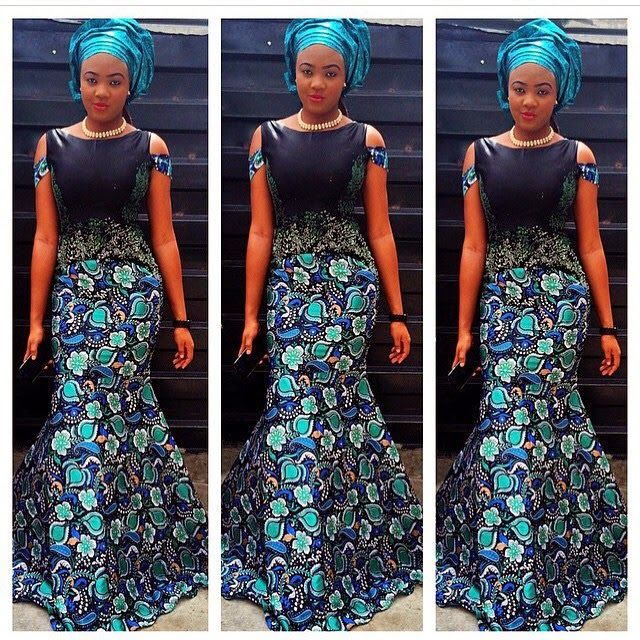 ankara Style for ladies, ankara dress and style, beautiful ankara design