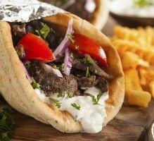 750 grammes vous propose cette recette de cuisine : Sandwich grec ou Gyro. Recette notée 4.4/5 par 59 votants