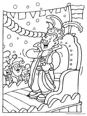 8 Places To Find Free Mardi Gras Coloring Pages At