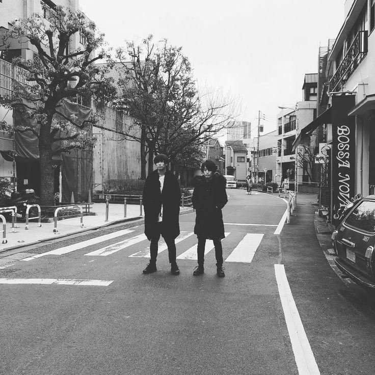 [Alexandros]川上洋平・白井眞輝2016/2/24 Photo shooting in Harajuku レオ様オスカー獲って欲しいな。洋平