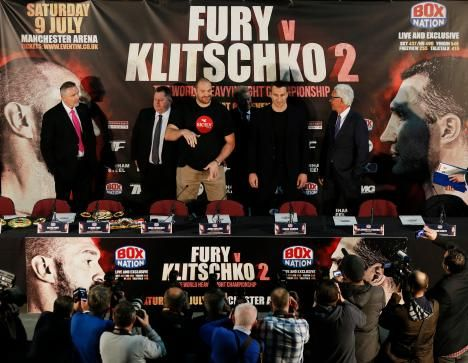 Boxing News: Fury vs Klitschko 2 Heavyweight Title Match Called Off